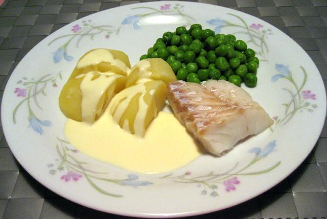 citronsås till fisk