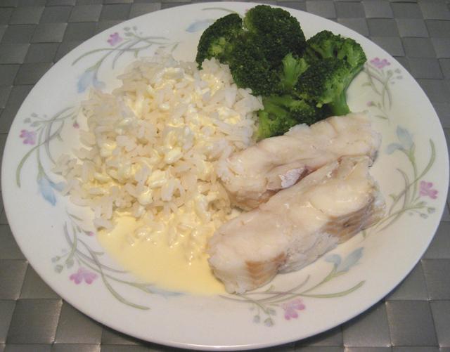 sås till kokt fisk