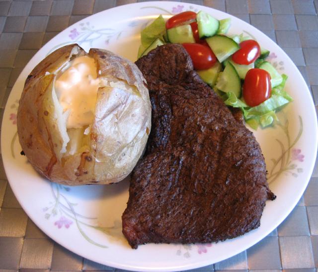 god potatis till grillat kött